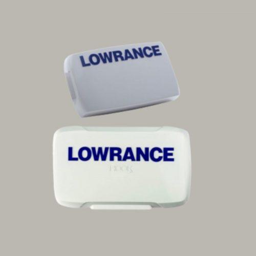 LOWRANCE HOOK 5 REVEAL COVER DISPLAY